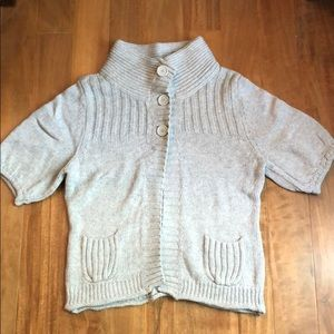 Express size L short sleeve sweater
